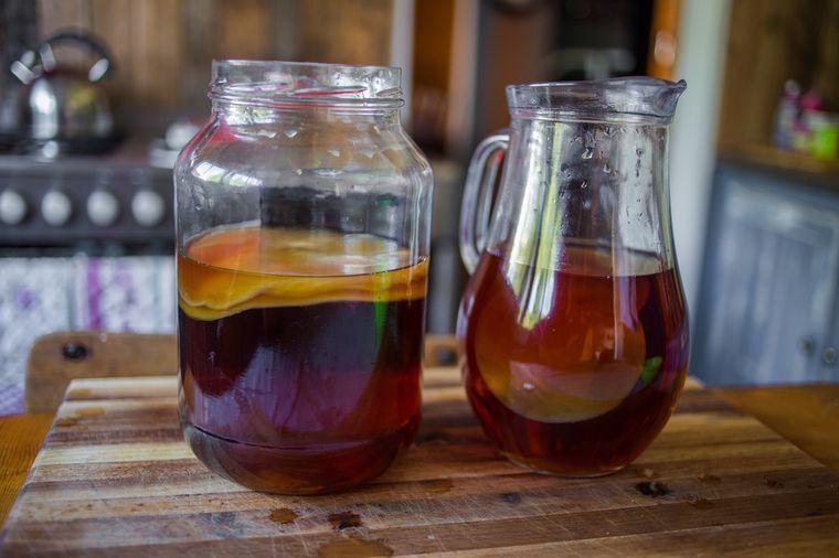 приготовление чайного гриба дома