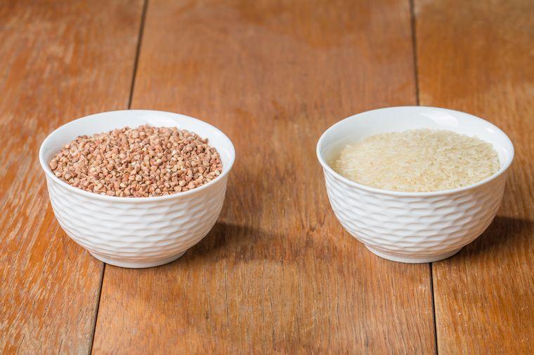 рис и гречка