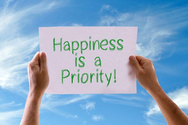 счастье это приоритет