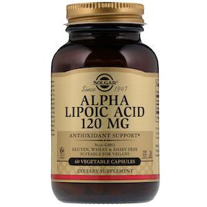 Alpha Lipoic Acid от Solgar