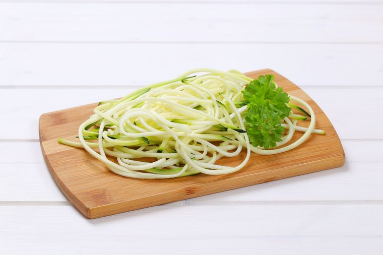 спагетти из кабачков