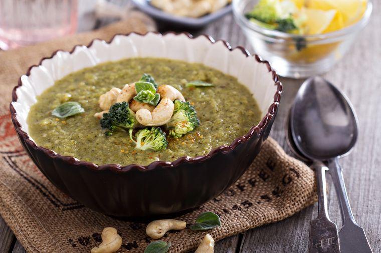 суп с кешью