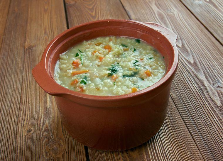 суп с пшенной кашей