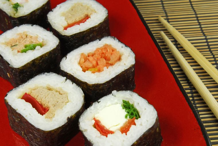 суши футомаки