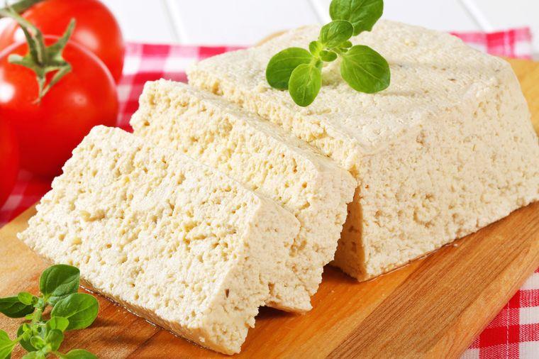 тофу соевый сыр в нарезке