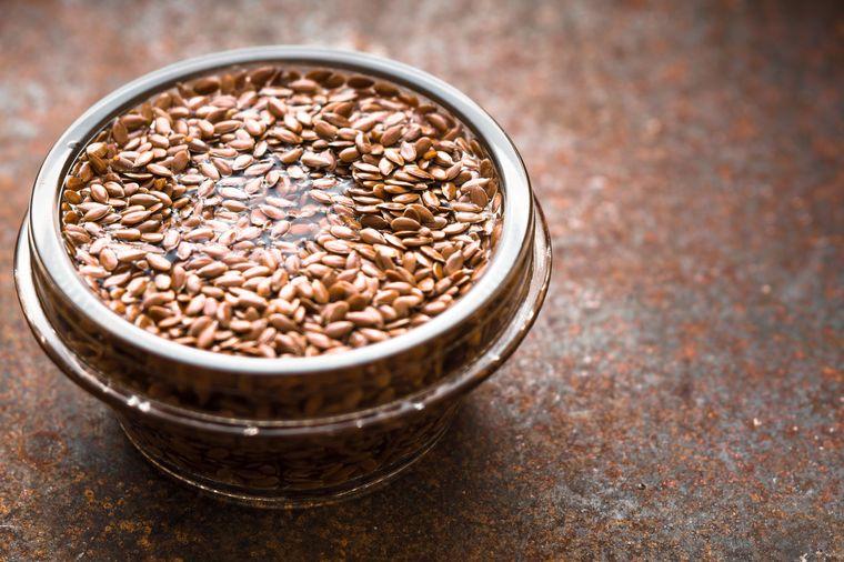 вареное льняное семя