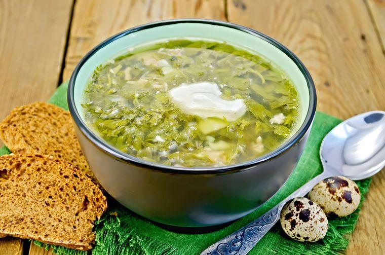 вкусный суп с крапивой