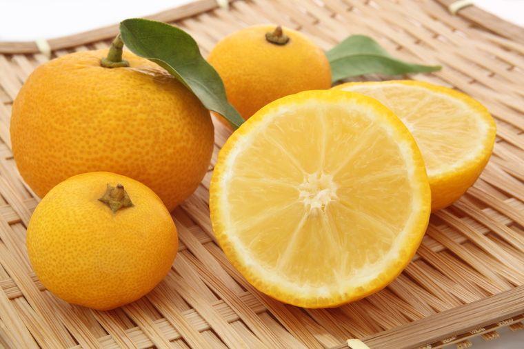 японский лимон юзу