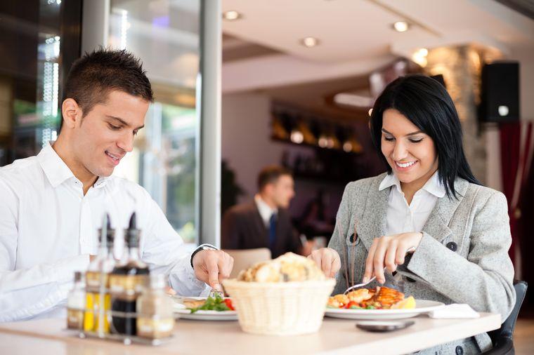питание в ресторане