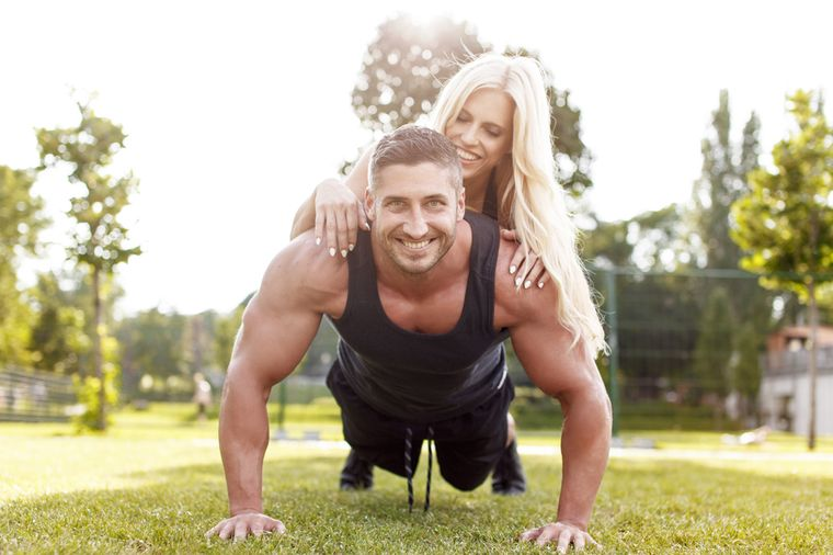 спортивная пара