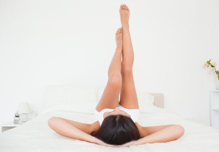 рельефные ноги