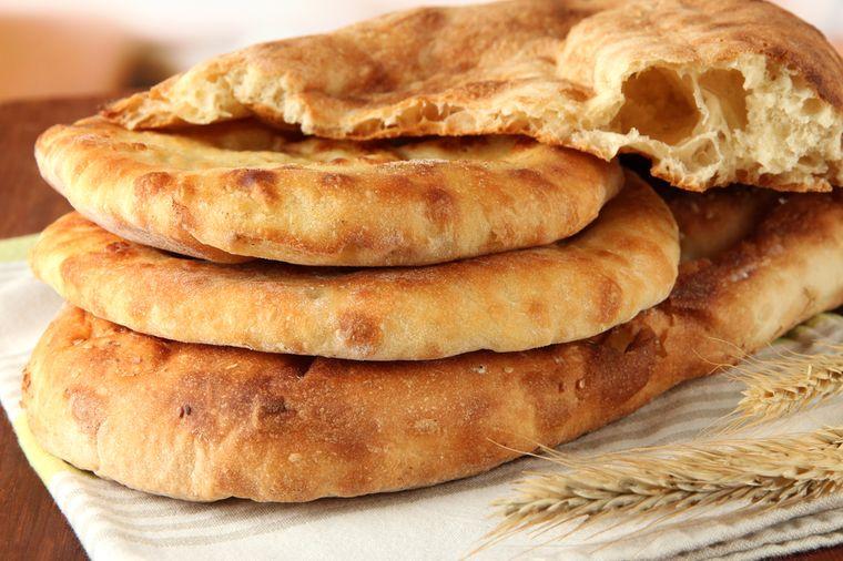 лаваш - бездрожжевой хлеб