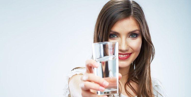 пьём воду