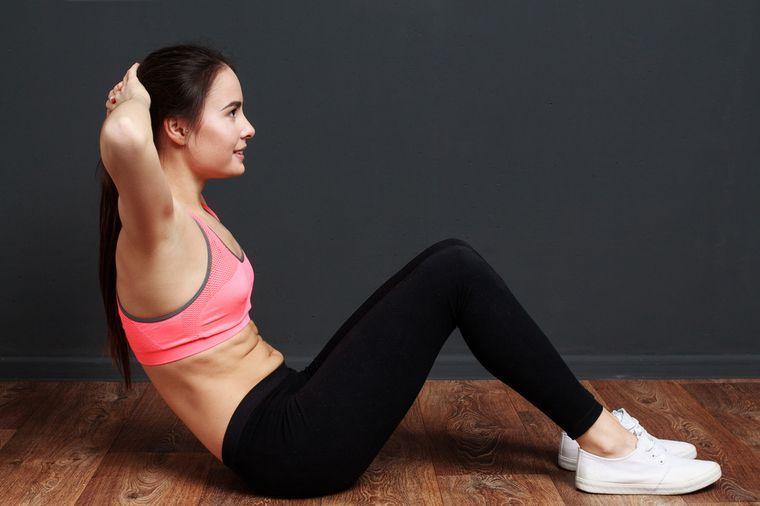 упражнение для тонуса мышц живота