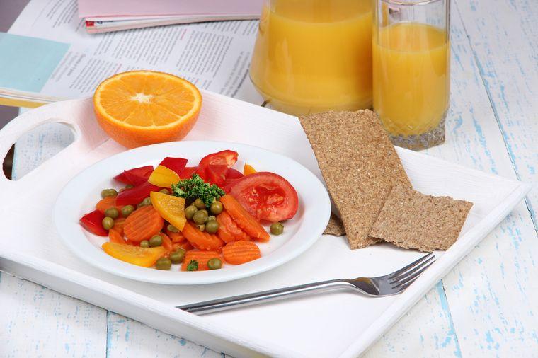 блюдо низкокалорийной диеты