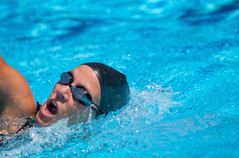 дыхание во время плавания