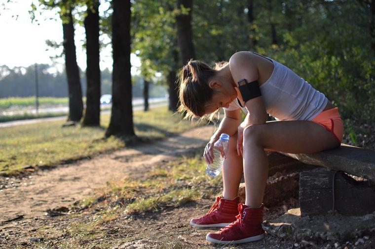 отдых после бега