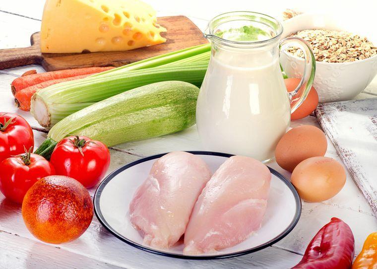 продукты для диеты буч