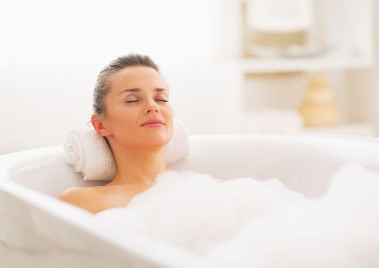 ванна с маслом