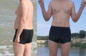 Александр, 35 лет, избавился от 25 кг