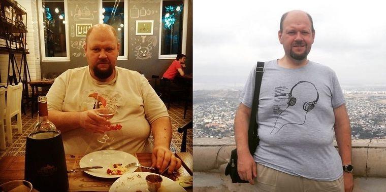 Антон, 38 лет, похудел на 60 кг