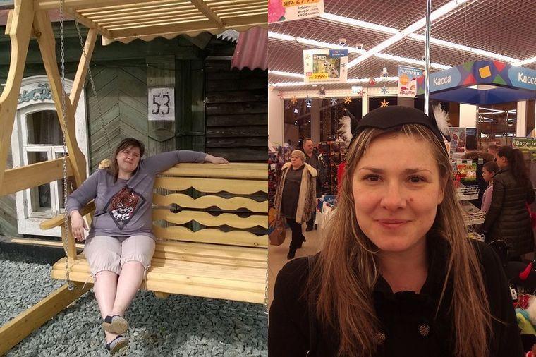 Екатерина, 34 года, похудела на 40 кг