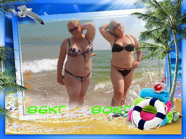 Елена, 39 лет, до и после похудения