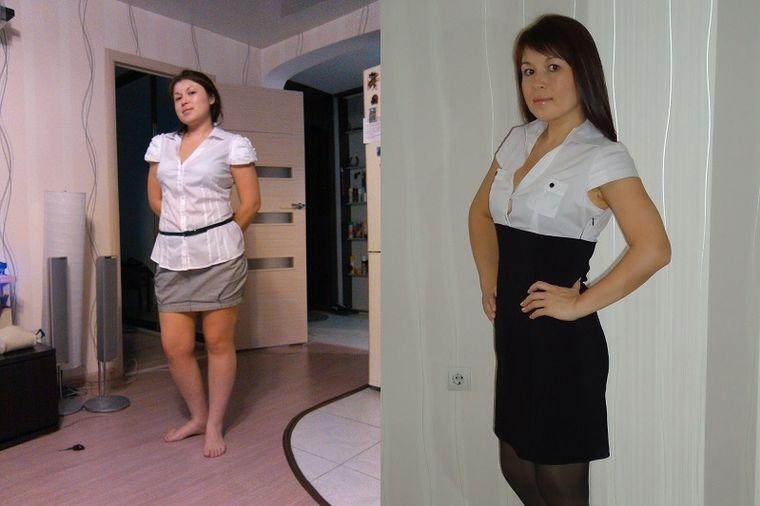 Юлия, 32 года, похудела на 13 кг