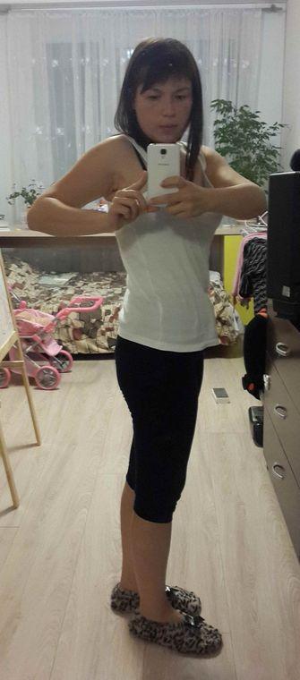 Юлия, 32 года, промежуточный результат