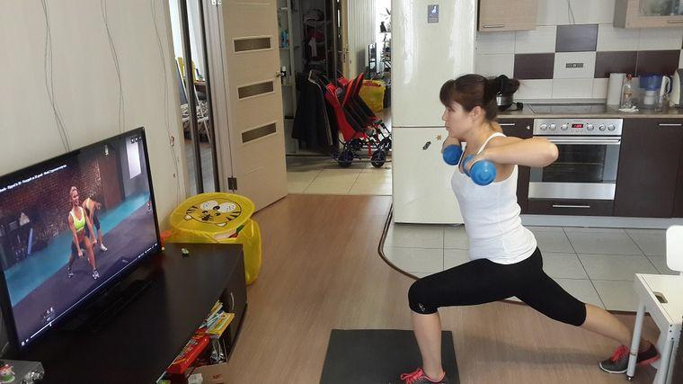 Юлия, 32 года, тренировки