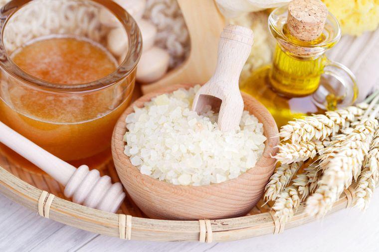 компоненты для медовой ванны