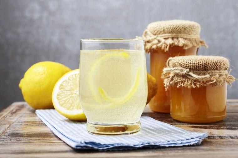 лимонад с медом и лимоном