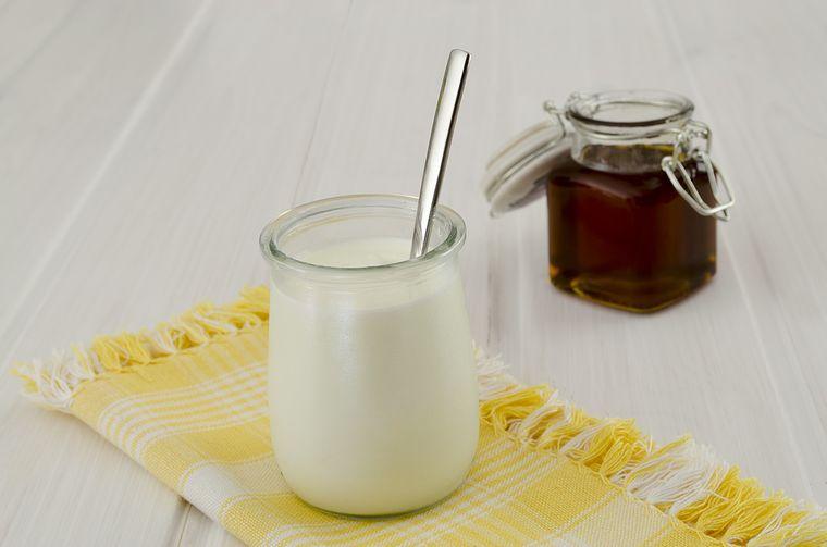йогурт и мед
