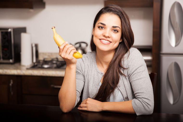 на банановой диете