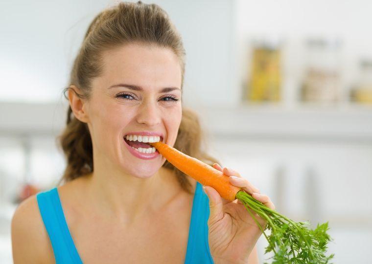 на морковной диете