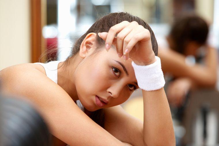 переутомление после тренировки