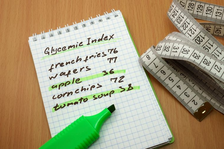 на диете по гликемическому индексу