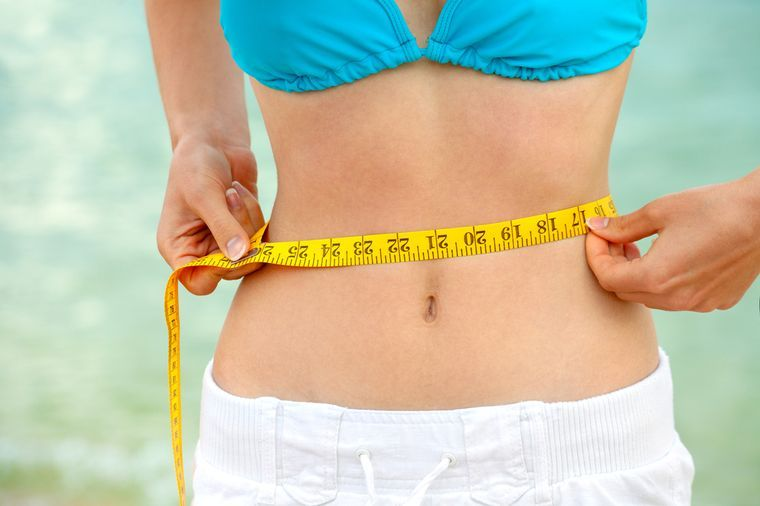 потерять жир на животе
