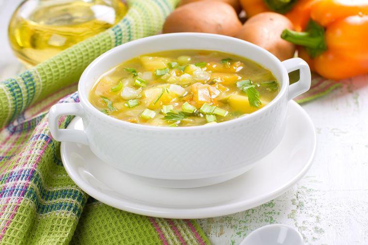 Боннский суп для похудения: рецепт, меню диеты, результаты.