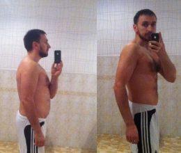 Павел, 32 года, избавился от 19 кг