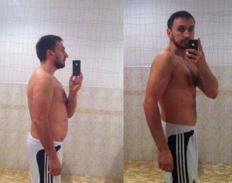 Павел, 32 года, похудел на 19 кг