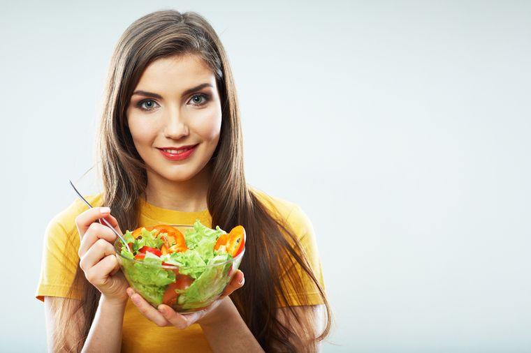 на простой диете