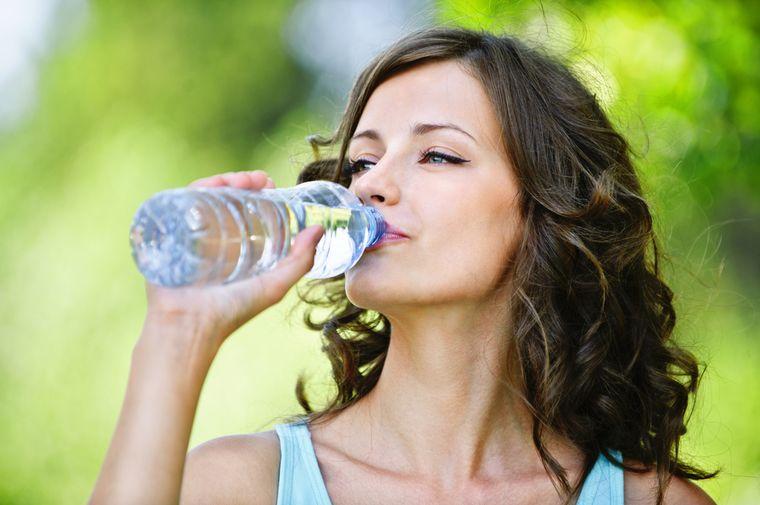 на водной диете