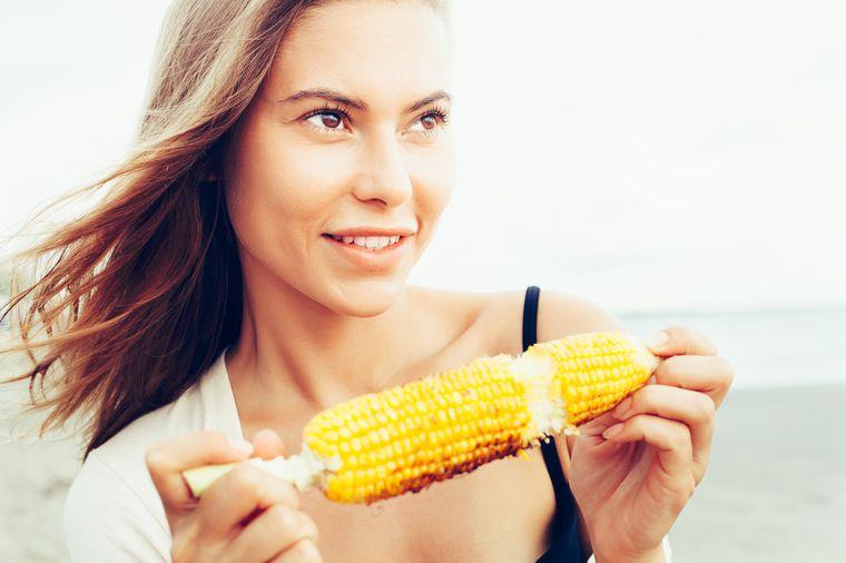 на кукурузной диете