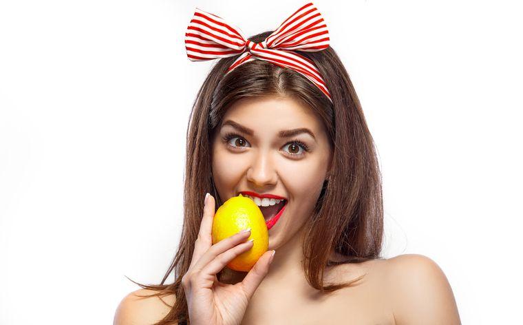 на лимонной диете