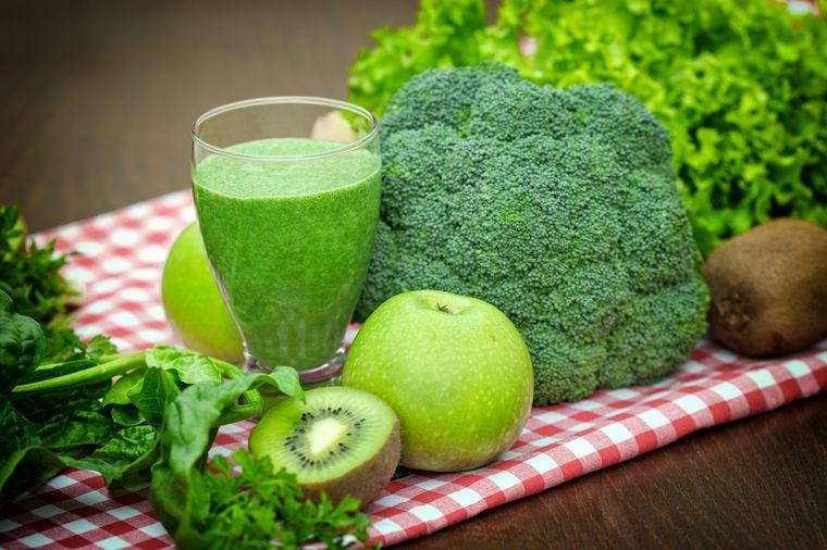 зеленая пища
