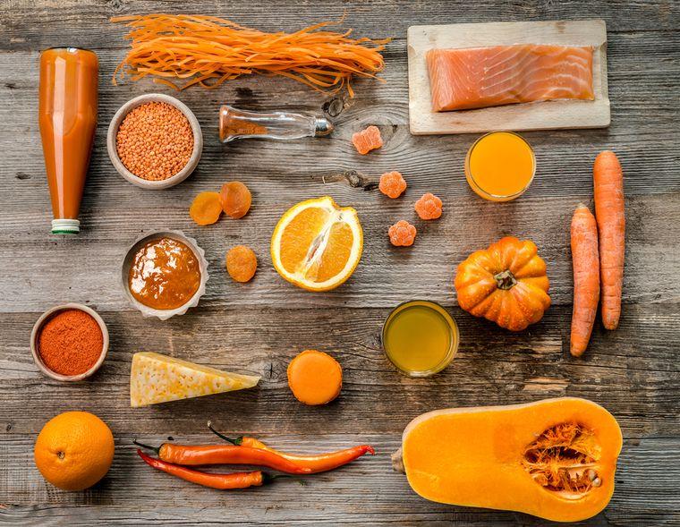 продукты для оранжевой диеты