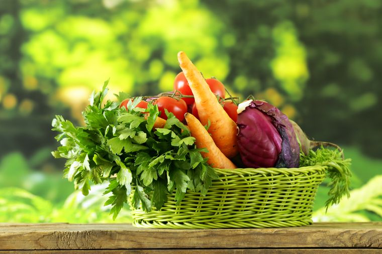морковь, свекла, капуста, картофель