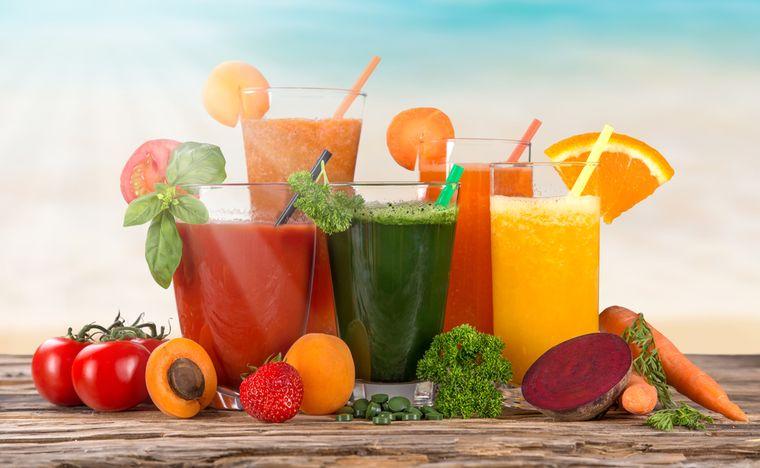 продукты для диеты на соках