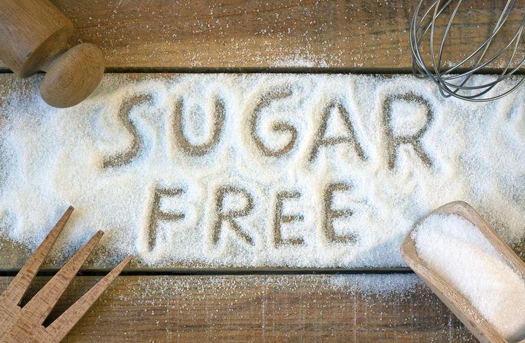 сахар - продукт, запрещенный на диете